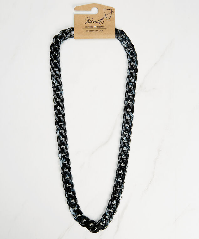 resin mask chain, Black, hi-res