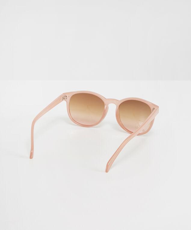 plastic pink sunglasses, PINK, hi-res