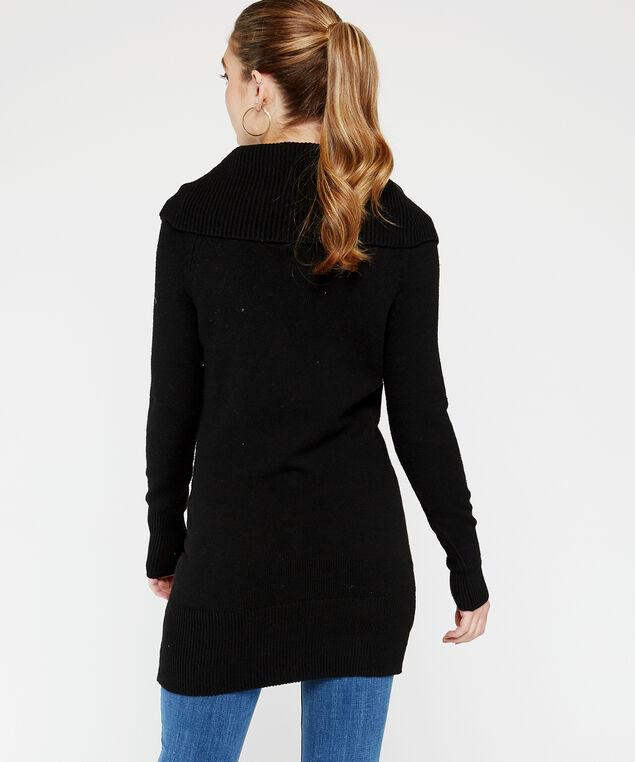 wb-72SR1293me tunic sweater, Black, hi-res
