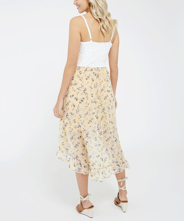bellini, Yellow Floral/Lace, hi-res