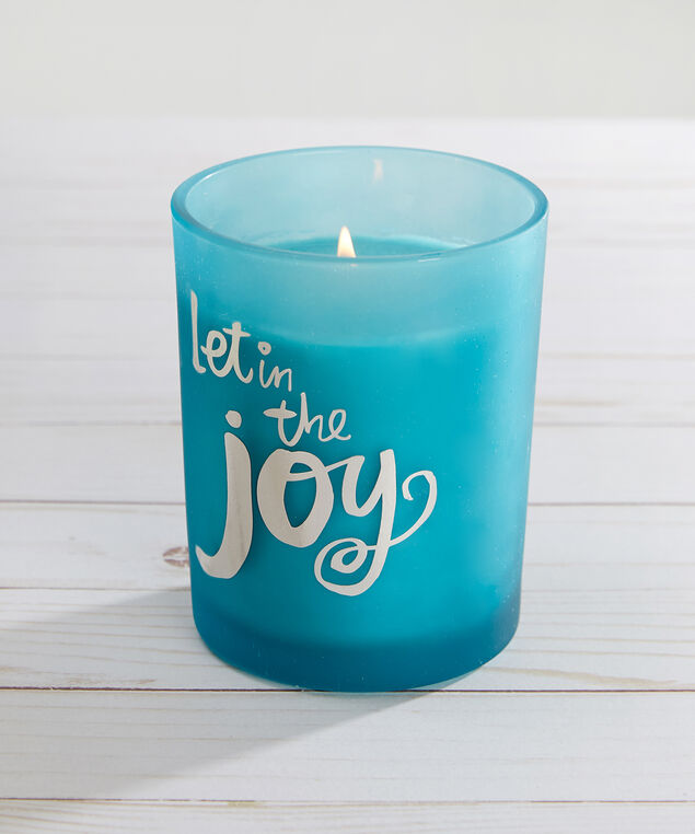 let joy in scented candle - wb, TEAL COMBO, hi-res