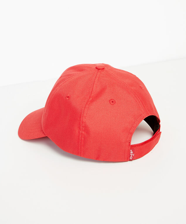 levi's ballcap red, RED, hi-res