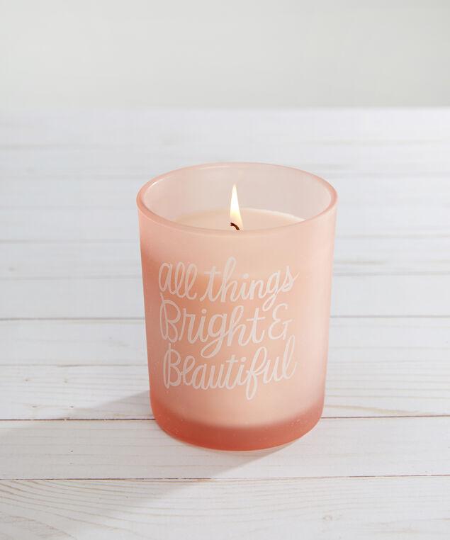 bright & beautiful candle - wb, PINK, hi-res