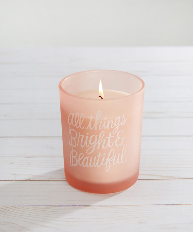 bright & beautiful candle - wb, PINK, hi-res