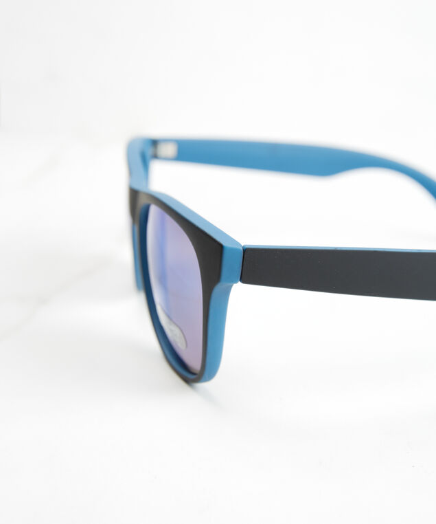 men's classic sunglasses, Blue