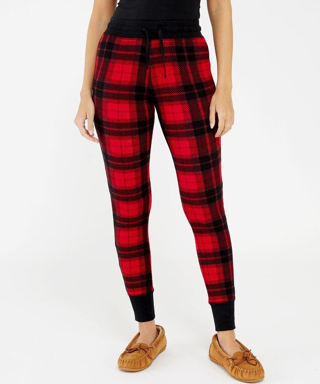 mellia legging h19, Red Check, hi-res