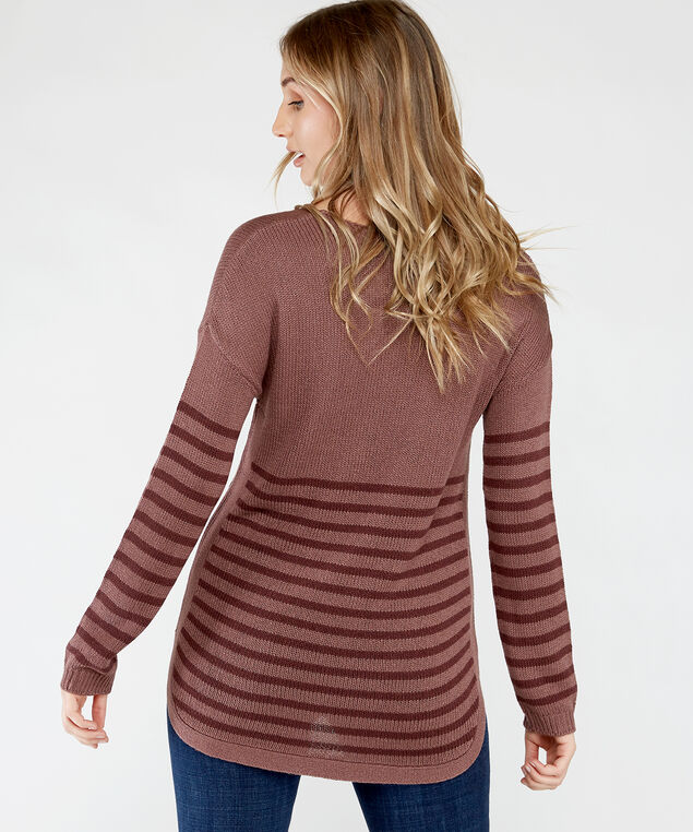 toni, Rose Taupe Stripe