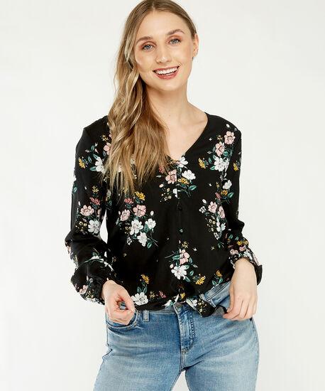 serene sp21, Black floral, hi-res