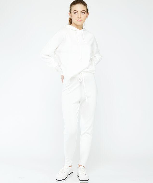 lounge pant, White