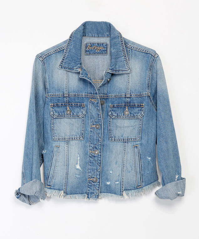 blakeny denim jacket, Denim, hi-res