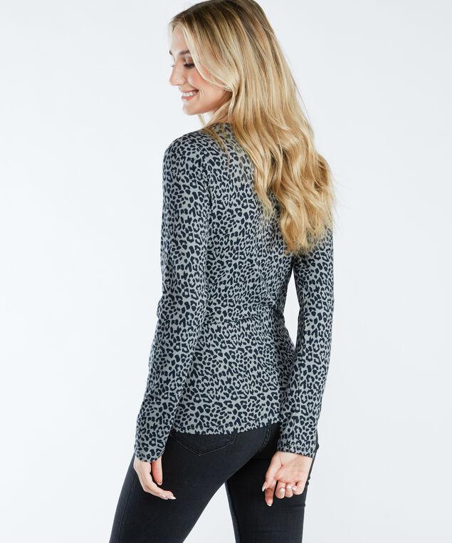 jody print h21, Grey/Black Leopard