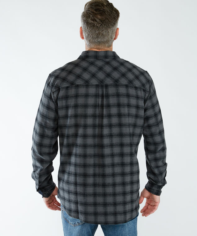 charcoal flannel, Charcoal
