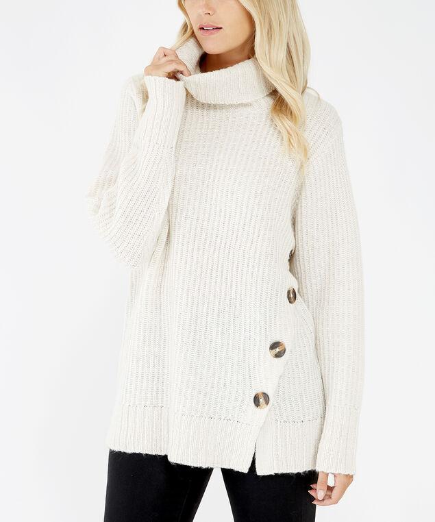 turtleneck sweater - wb, Pearl, hi-res