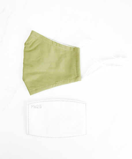 filter face mask, Green, hi-res