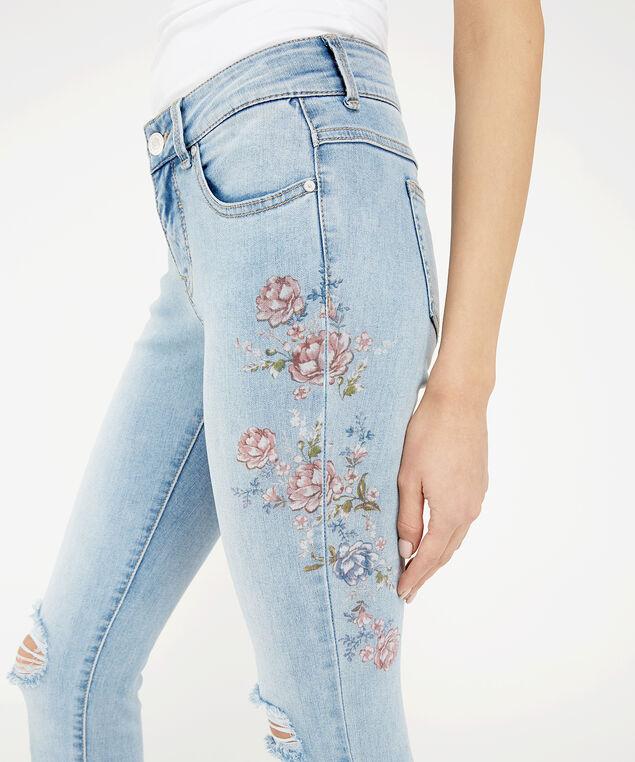 skinny printed floral su19, , hi-res