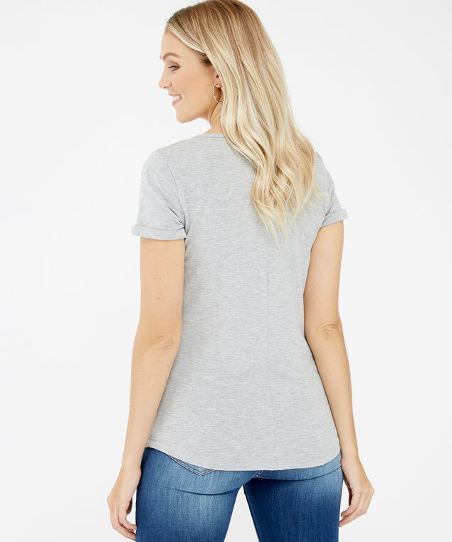maybe later graphic tee, Grey, hi-res