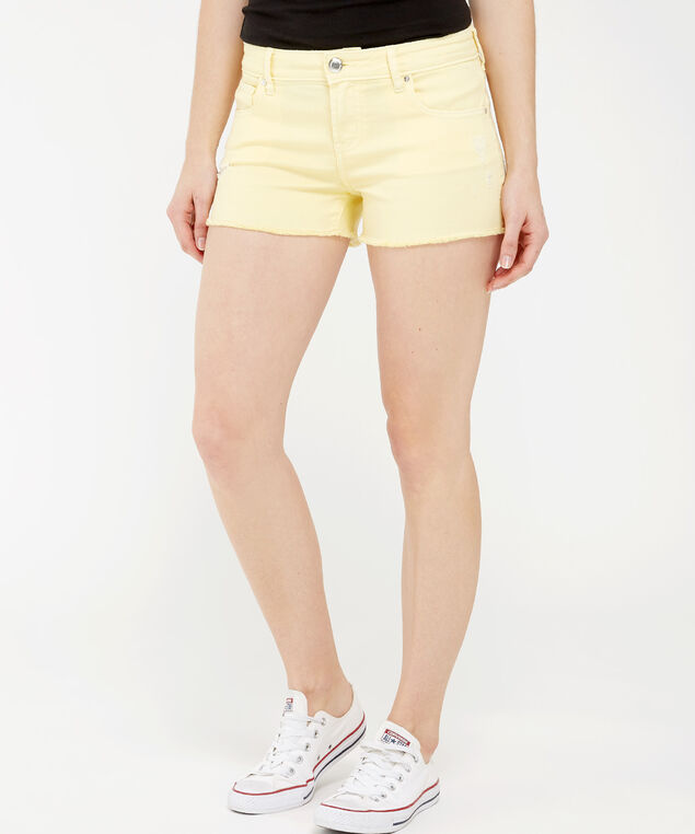 shortie pale yellow, PALE YELLOW, hi-res