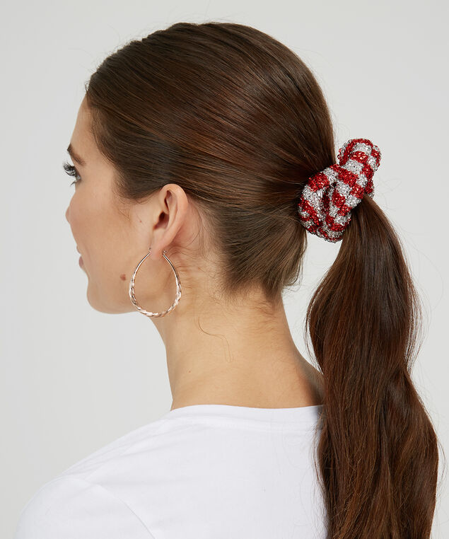 metallic hair scrunchies - wb, MULTI, hi-res