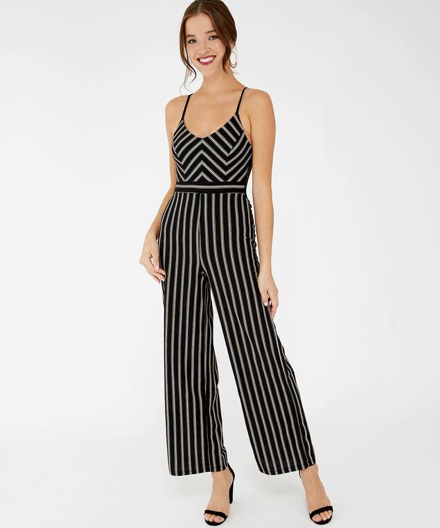 striped jumpsuit - wb, Stripe, hi-res