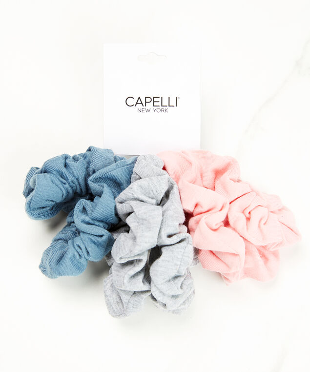 6 pack scrunchies, Assorted, hi-res