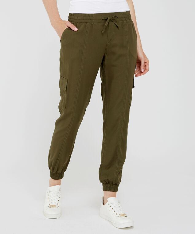soft cargo jogger olive, , hi-res