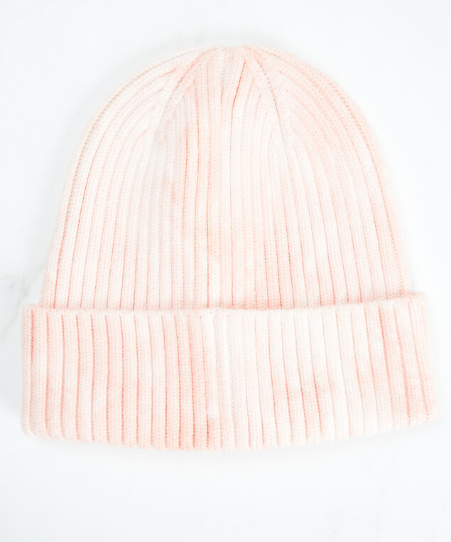 tie dye beanie, Pink