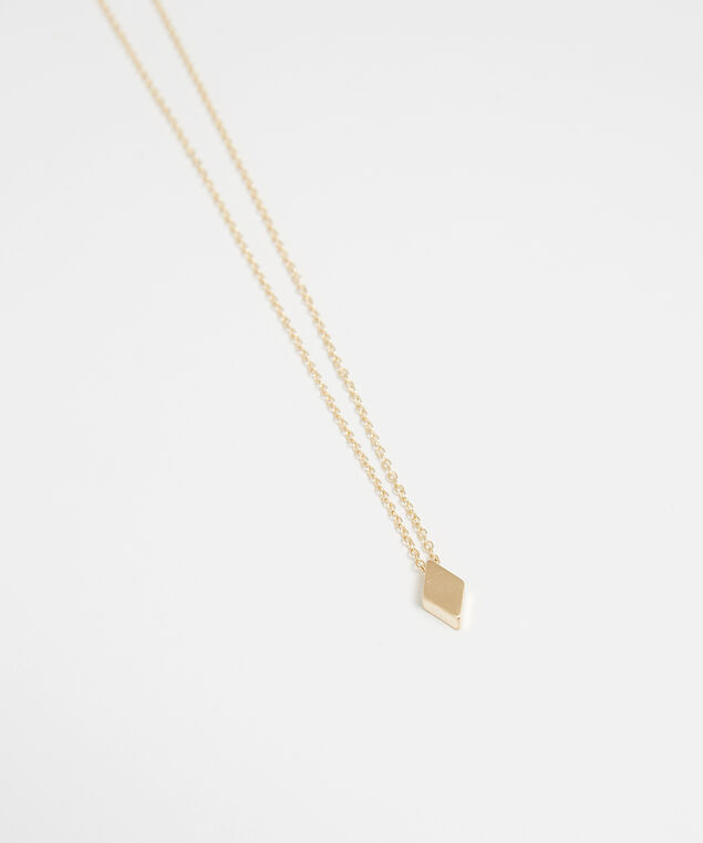 diamond necklace, GOLD, hi-res