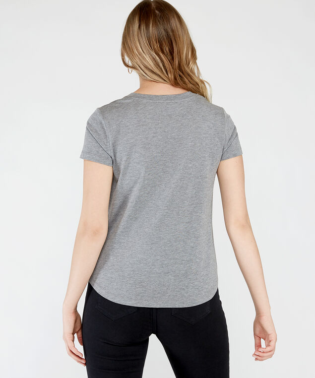graphic tee  h20, Grey