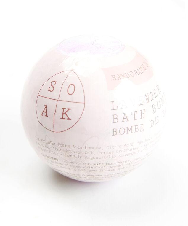 lavender bath bomb, Purple