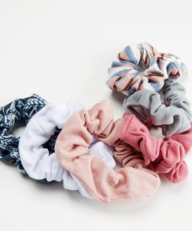 6 pack of hair scrunchies, Multi, hi-res