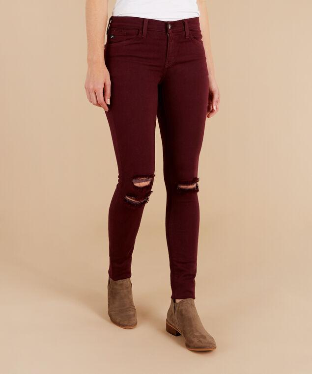 chanel burgundy skinny, , hi-res