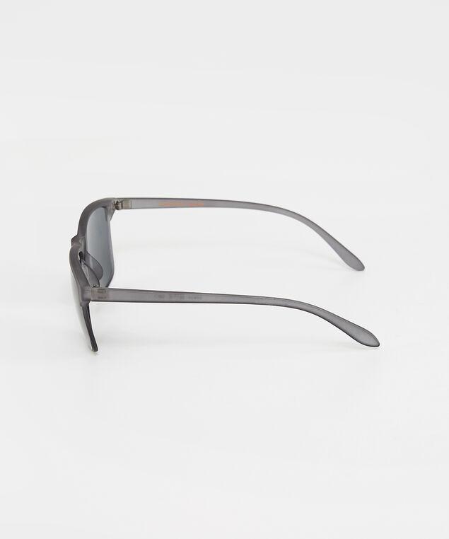 plastic grey sunglasses, GREY, hi-res