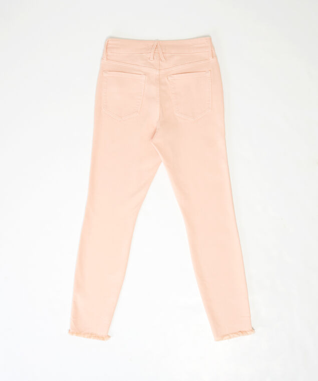 colour crop fray hem, , hi-res