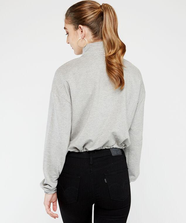 long sleeve popover - wb, Grey, hi-res