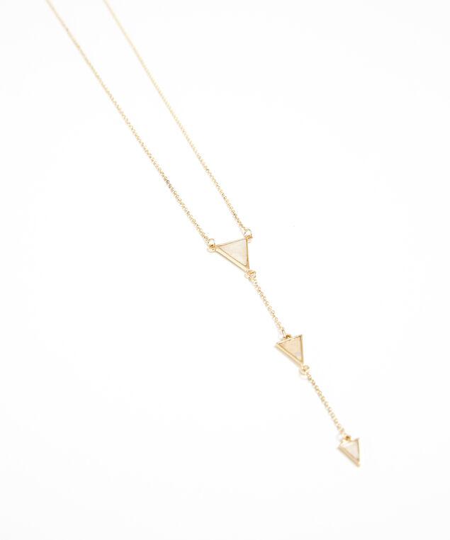 arrow necklace, GOLD, hi-res