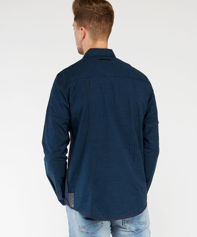 long sleeve shirt, Dk Blue