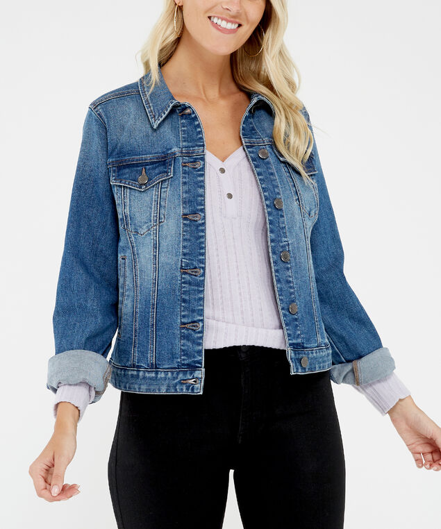 denim jacket dsw sp20, Washed
