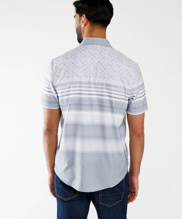 ss printed wicking shirt, Grey