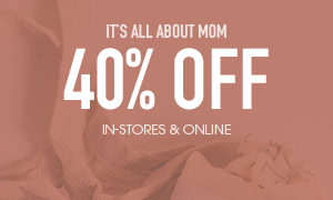 40% off regular priced womens's tops, dresses and jackets - In-Stores and Online