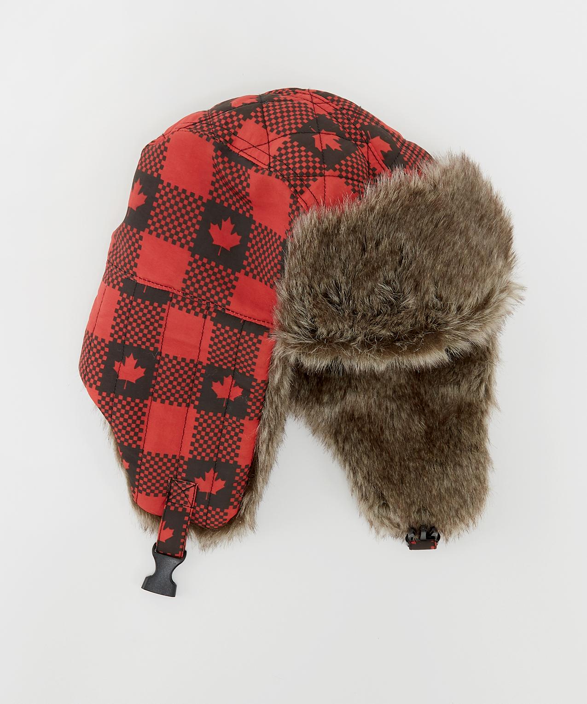 1aaf6d5deaa98 mens buffalo check trapper hat
