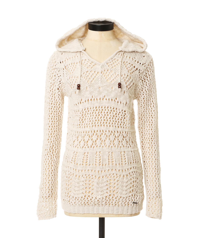 Crochet Hooded Sweater Triple 5 Soul