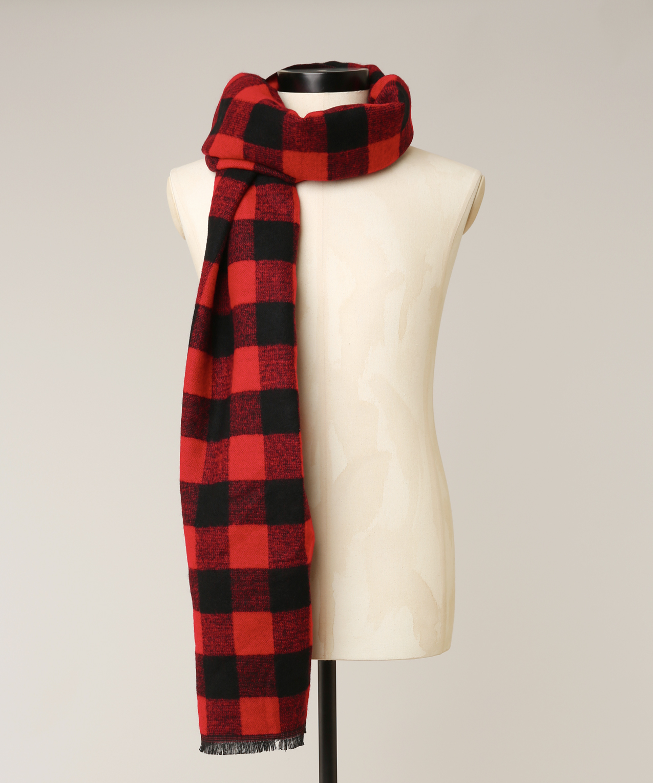 38430301a327a buffalo plaid scarf