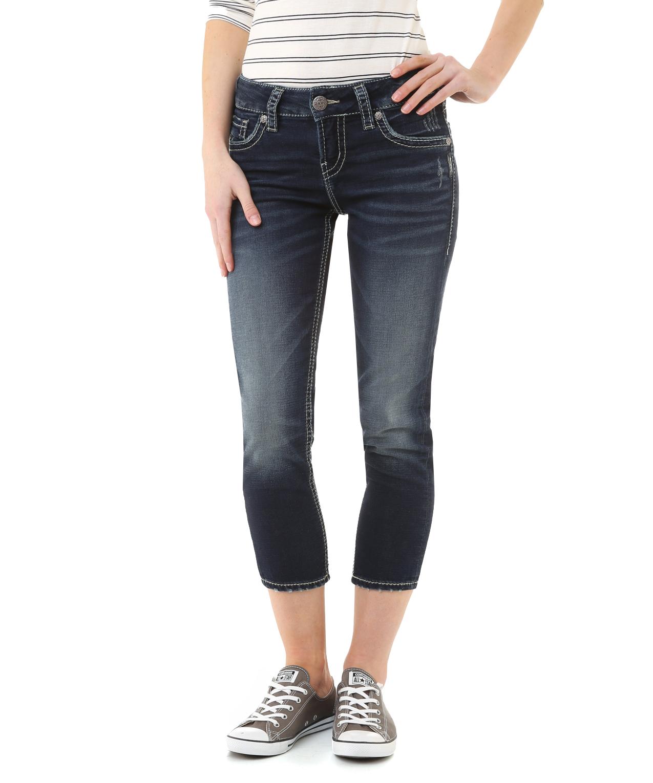 Silver Jeans Suki Capri Ye Jean