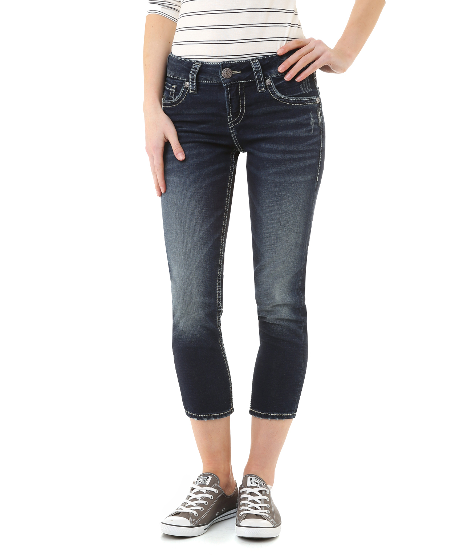 suki joga capri swk353 | silver jeans co