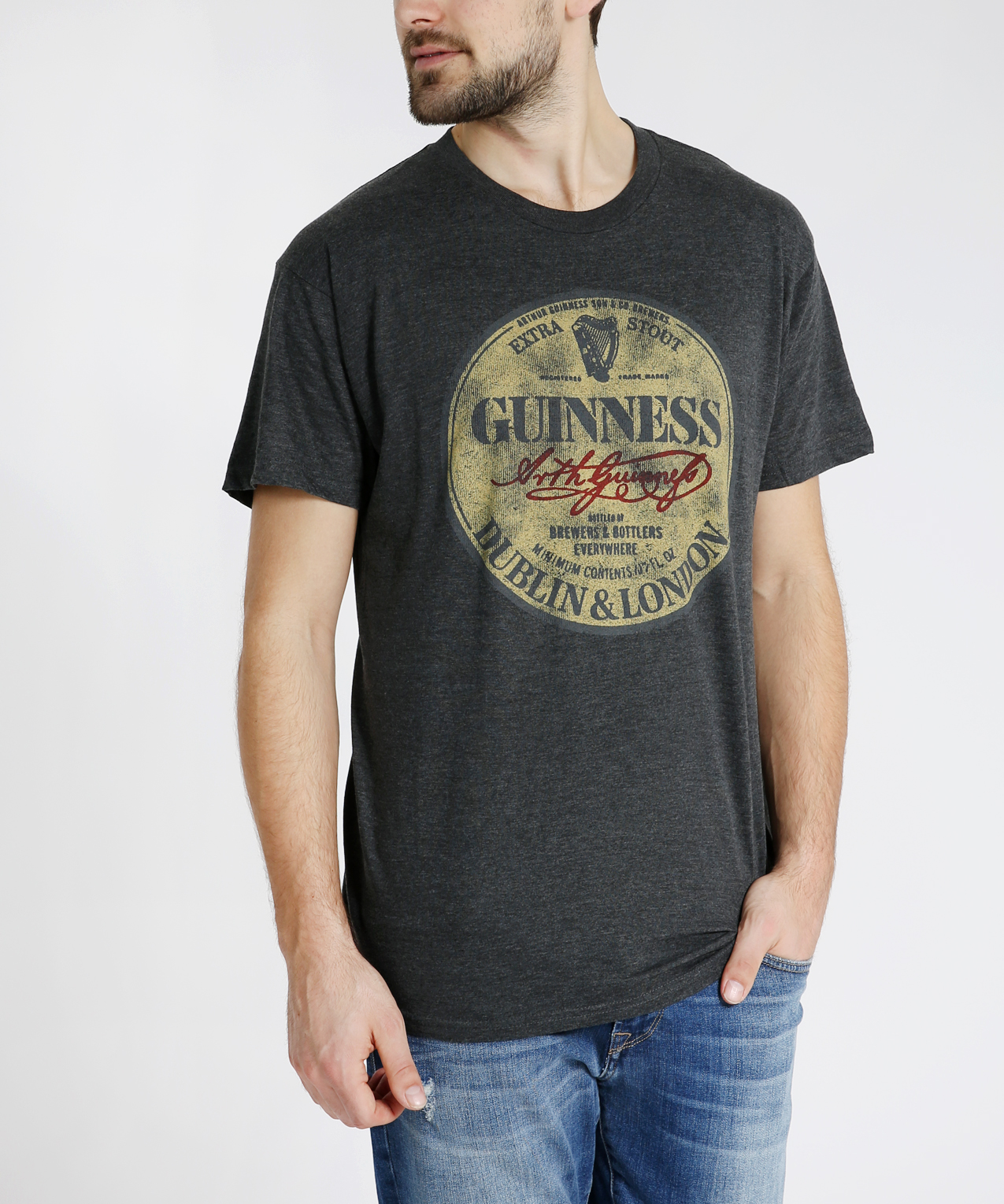 179ec5cf guinness graphic tee, CHARCOAL HEATHER, hi-res