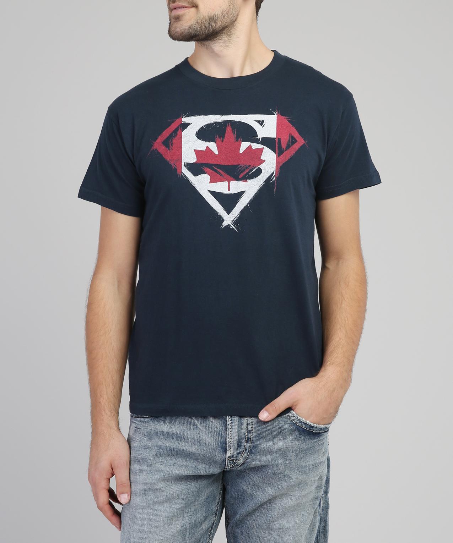 760bd648 canada superman graphic tee, NAVY, hi-res