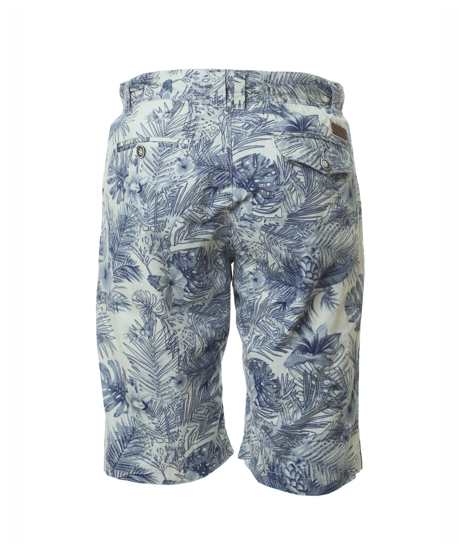 0c021336d8 ... palm printed cargo short, WHITE/ BLUE, hi-res ...