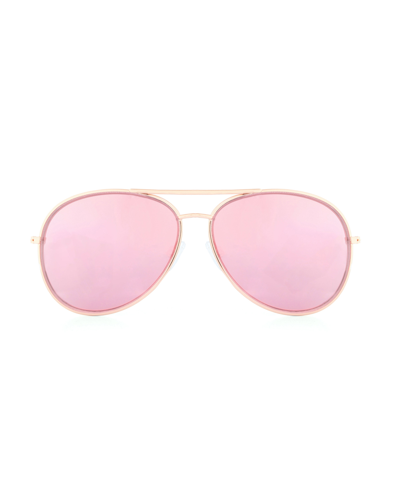 Rose Tinted Sunglasses  gold aviators with rose tinted lenses kismet
