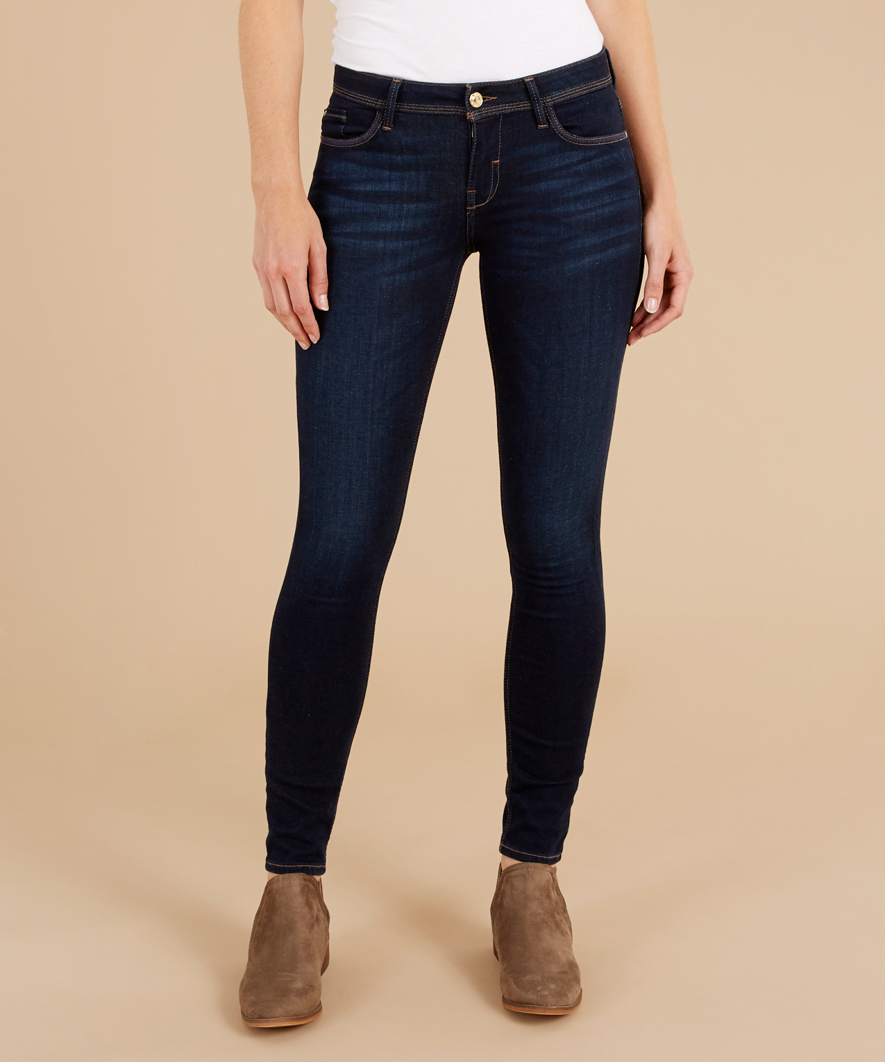 Guess skinny low waist jeans