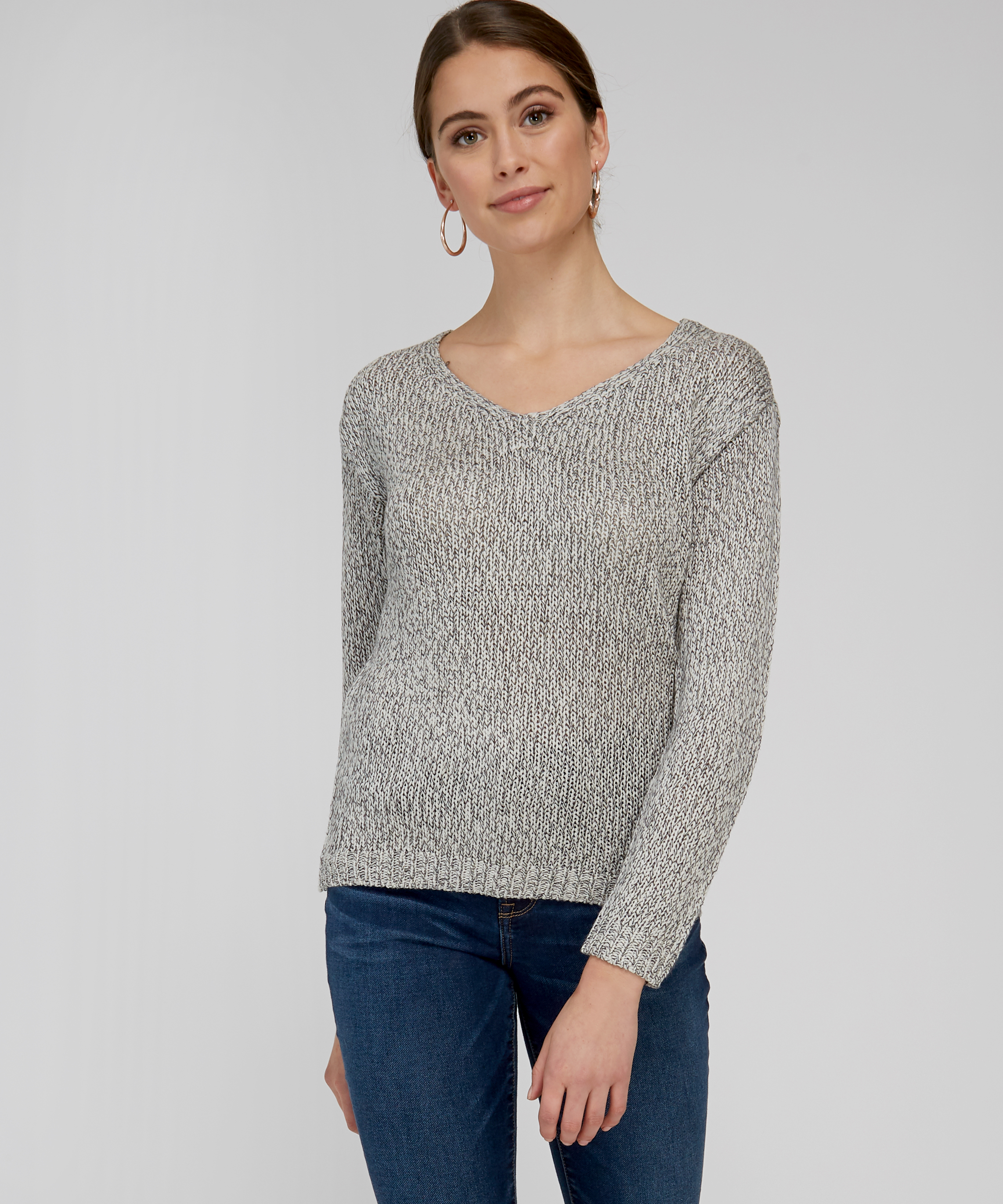 2804f8e222 sweater with lace up back - wb
